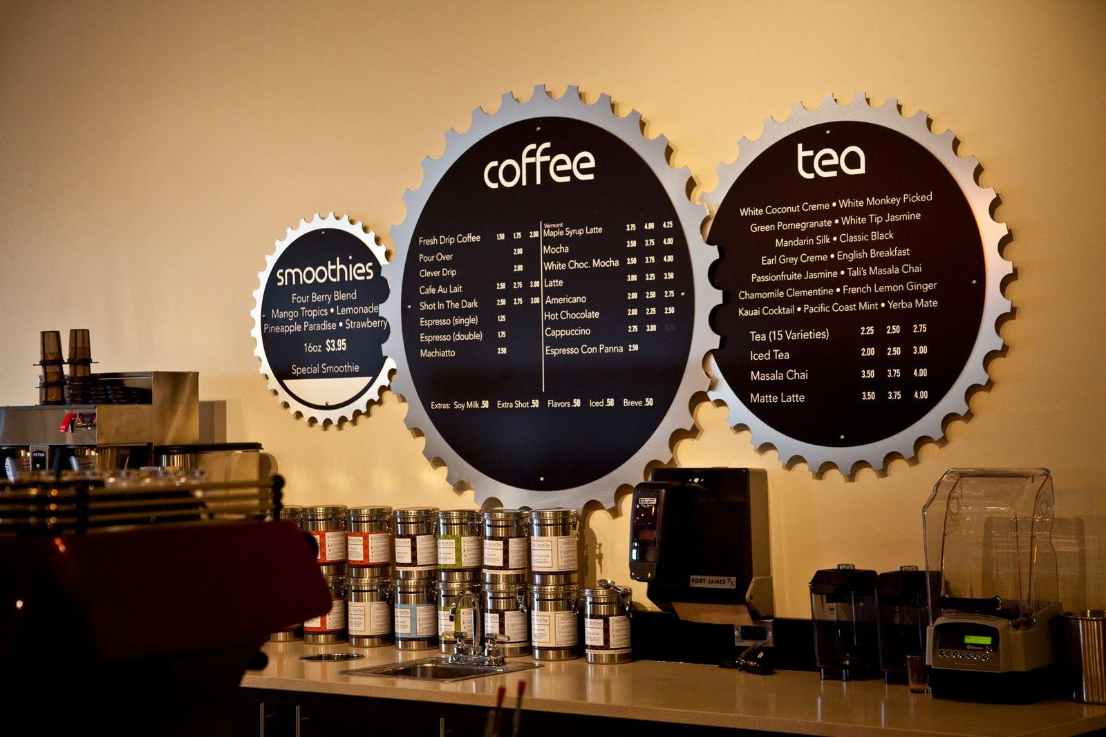 montana eats hub coffee menu design
