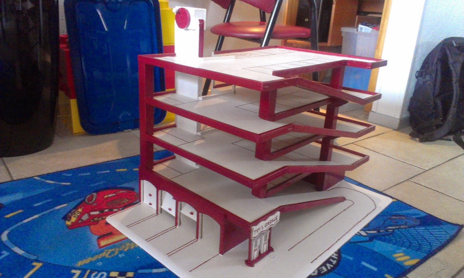 Houten Garage Hema : Bouwtekening houten speelgoed garage archidev