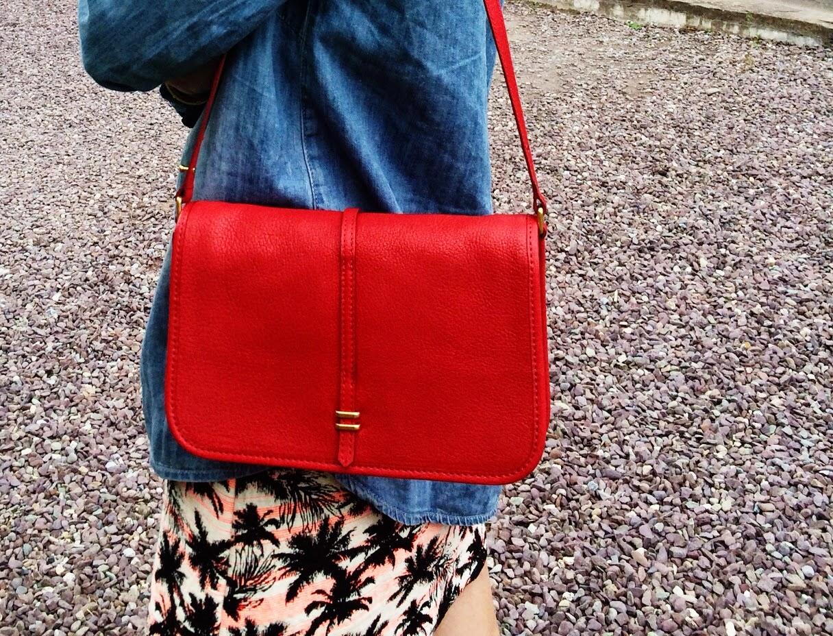 Steph About Town Red Marc Jacobs Bag
