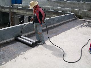 waterproofing membrane pada atap