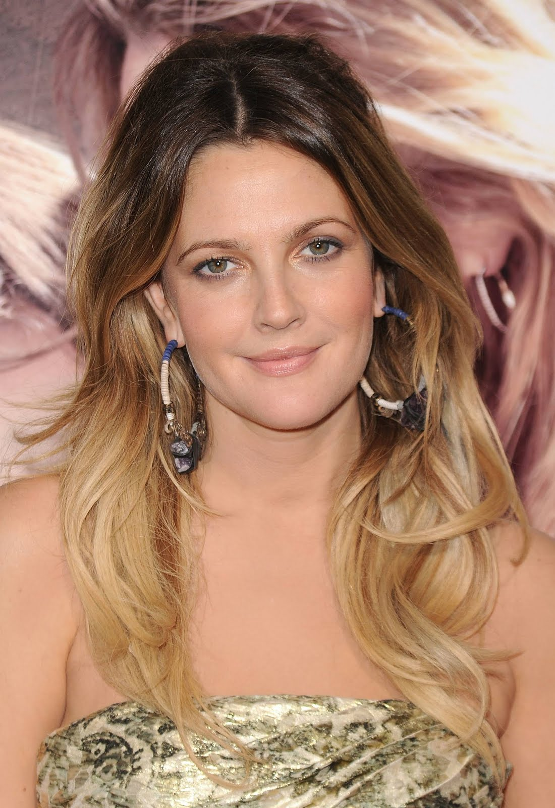 Celebrity Ombre Hairstyle - Drew Barrymore