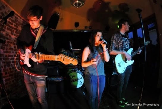 Bark Nebraska Bark: indie/math-pop act from Crewe, UK played in E107 of the ArenaCast. Photo by Tom Jennings Photography.
