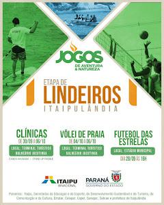 Jogos de Aventura & Natureza começam neste final de semana em Itaipulândia O município de Itaipulân