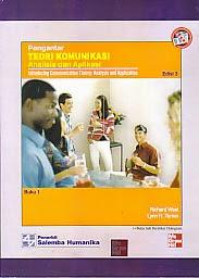 toko buku rahma: buku PENGANTAR TEORI KOMUNIKASI (ANALISIS DAN APLIKASI) buku 1, pengarang richard west, penerbit salemba humanika