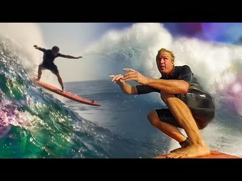 Who is JOB 4 0 PREMIERE - Soft-top surfing at Jaws Ep 1