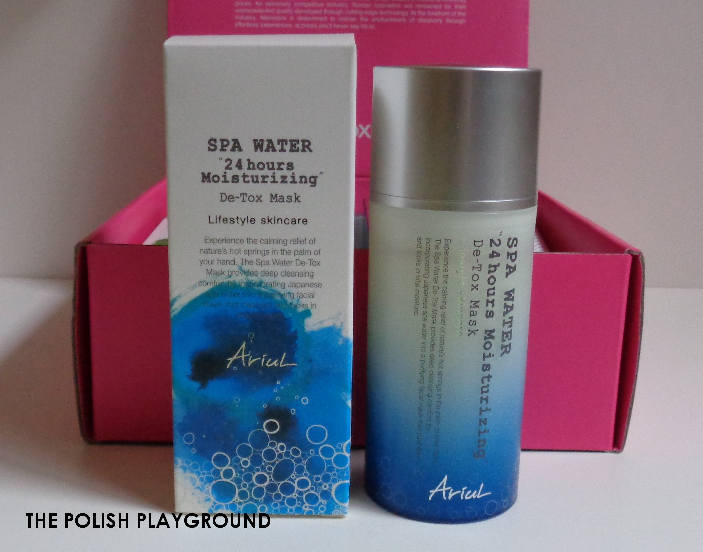 Memebox Special #73 Brighten & Correct Unboxing - Ariul Spa Water 24 Hours Moisturizing De-tox Mask