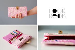 růžová peněženka
