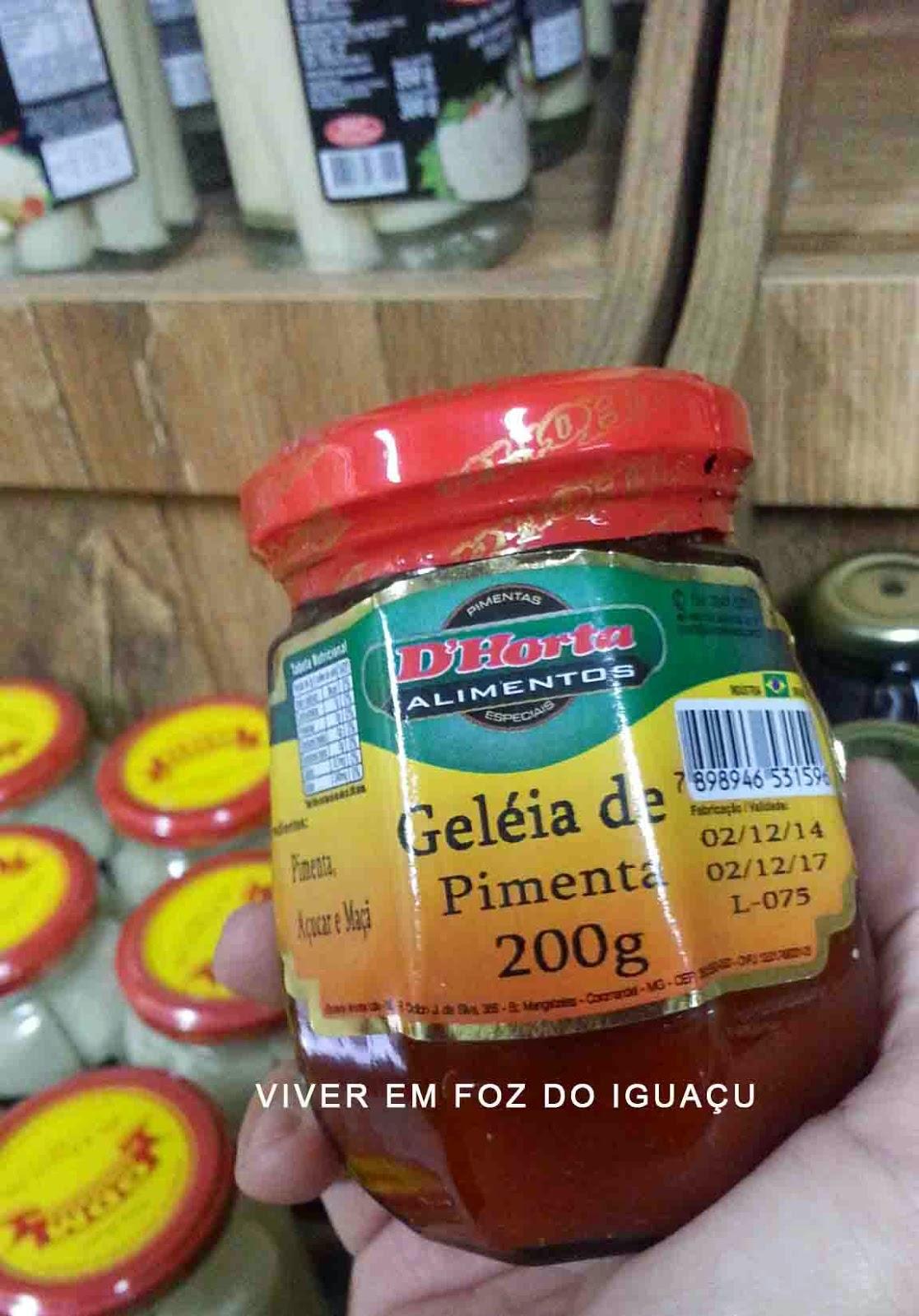 Ei, você! Vai querer Geléia de Pimenta?
