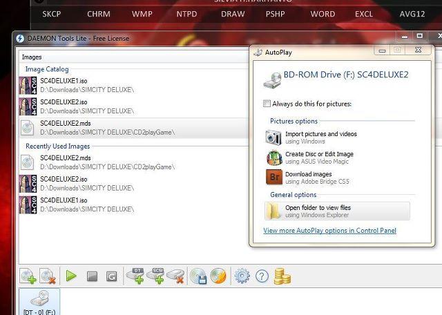 DaemonTools Lite 4.45.4.0315 (with SPTD 1.81) screenShoot