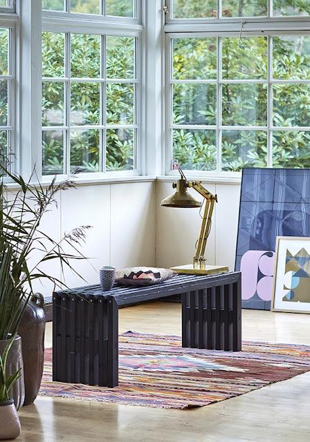 PLUS trallemøbler - Bæredygtige tralle-havemøbler FSC træ skaber stemning ude og inde Bæk & Kvist