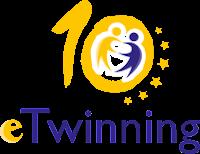 Logotipo del décimo aniversario de eTwinning