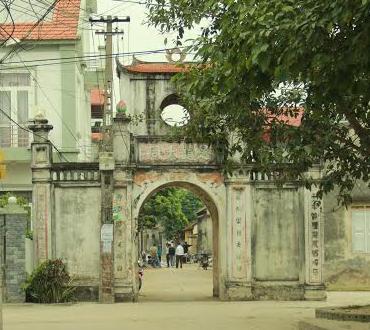 Một góc làng Xuân Cầu, xã Nghĩa Trụ ( Văn Giang)