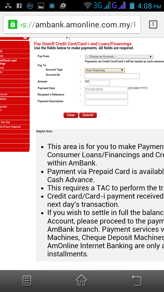 AmBank Hire Purchase (Car Loan) - carloan.com.my