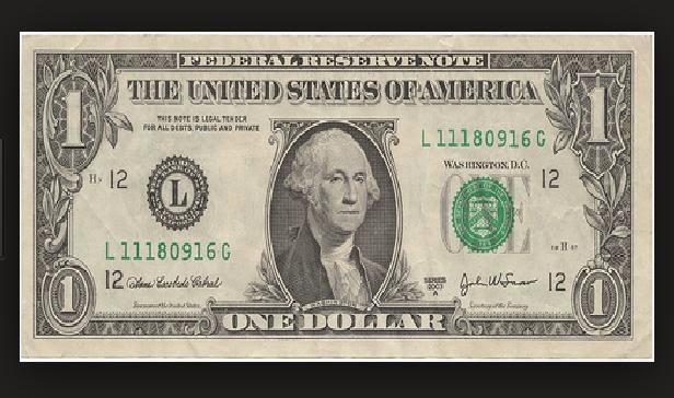 terbuat dari apakah uang kertas dolar amerika