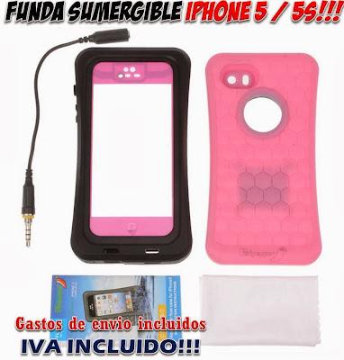 funda sumergible iPhone