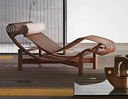 Daybed chaise longue or chaise lounge themodernsybarite - Chaise longue charlotte perriand ...