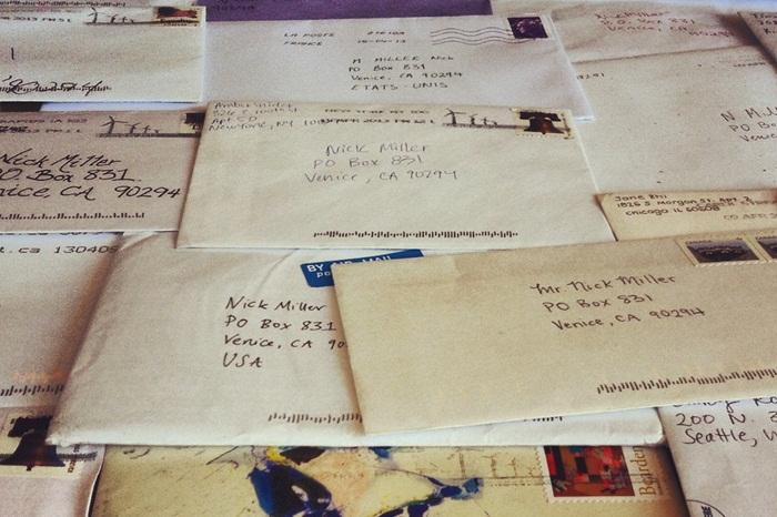 carta para um estranho - Carta para um estranho