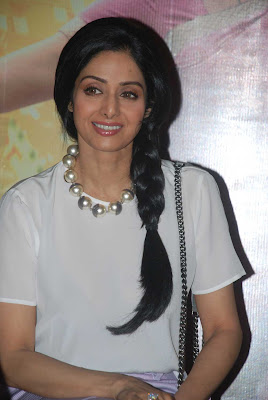 Sridevi at English Vinglish Trailer Launch