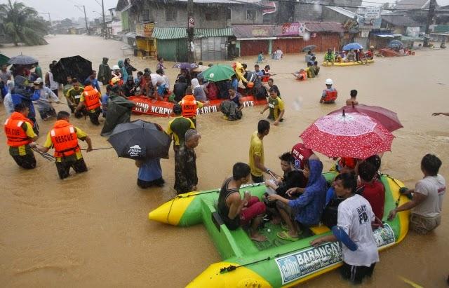 MAS DE 475 MIL AFECTADOS EN FILIPINAS POR TORMENTA TROPICAL FUNG-WONG, 20 DE SEPTIEMBRE 2014