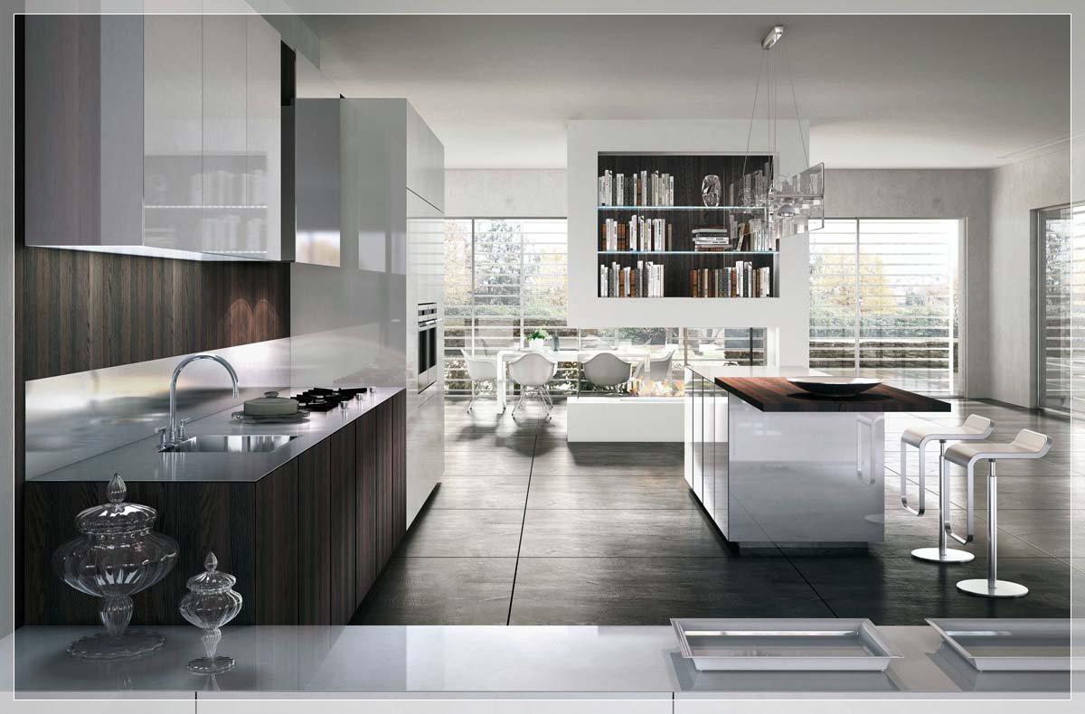 Nydelig Minimal kjøkken med perfekt organisasjon - interiør ...