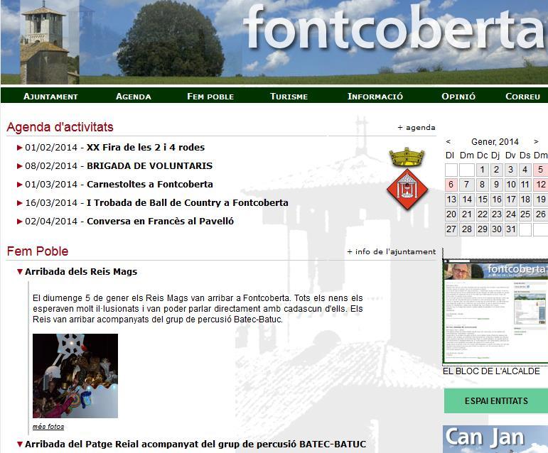 Web de Fontcoberta