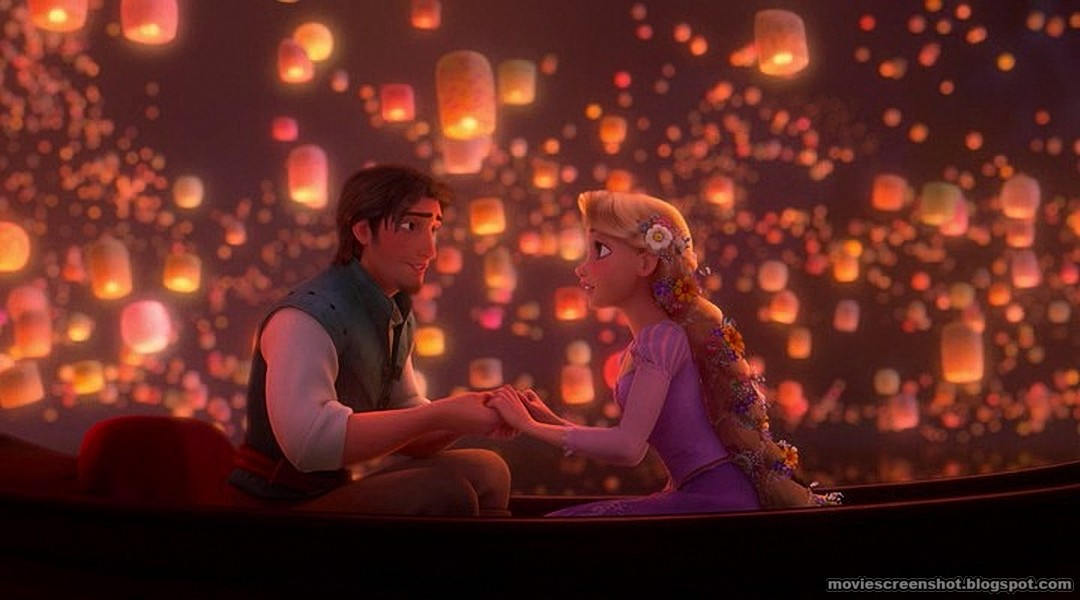 Lanterns Like Movie Tangled