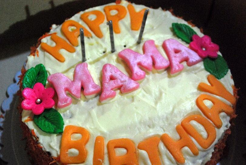 Charming Cake Happy Birthday Mama Cake