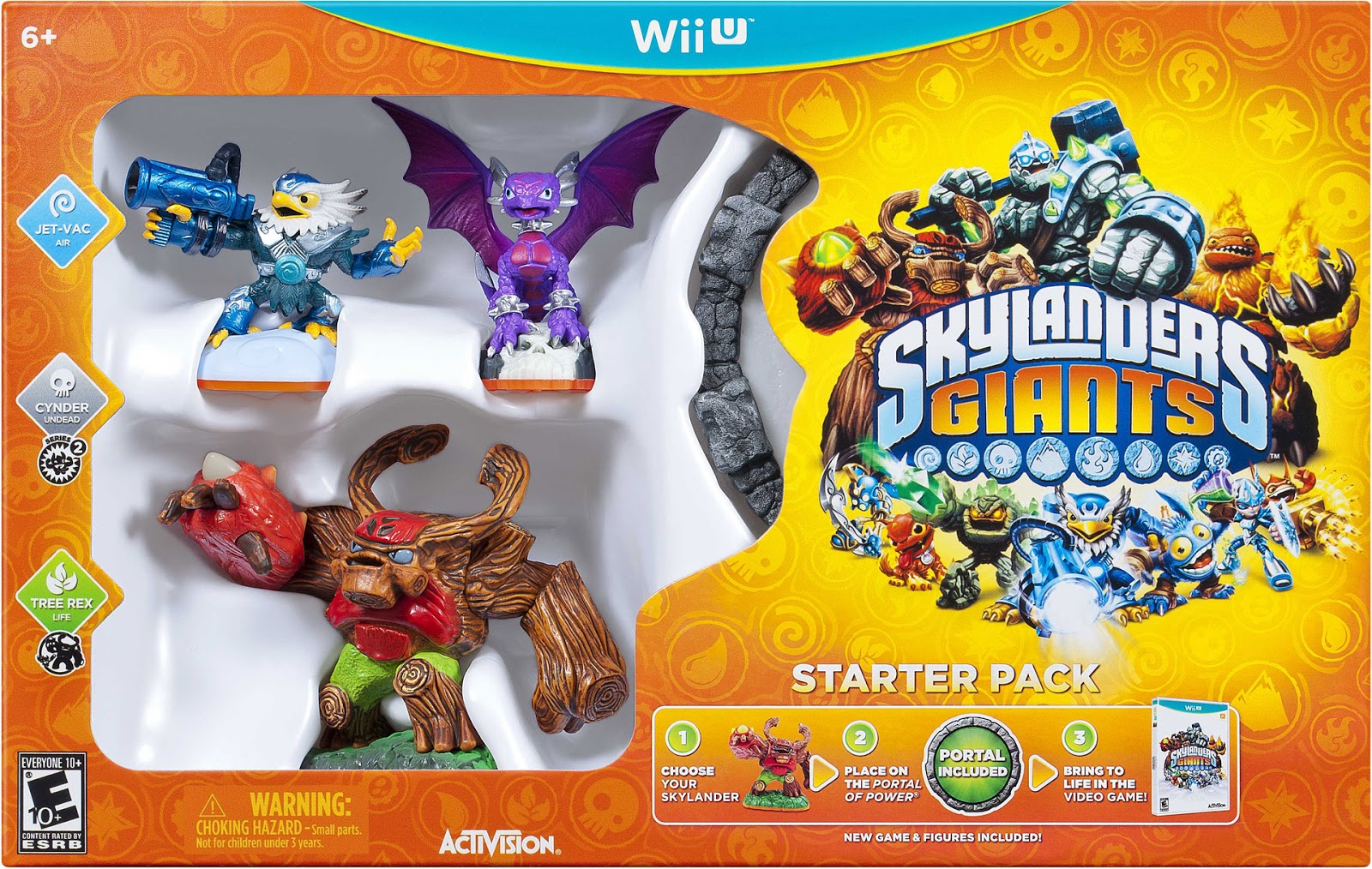 Decided to pick up the skylanders giants starter package for the wii