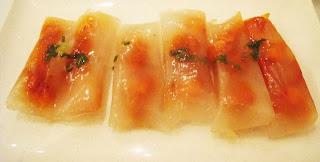 Steamed Shrimp & Pork Dumplings from wrap & roll