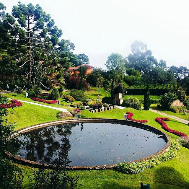 Campos do Jordão, Jardins mais bonitos do mundo, Paisagismo