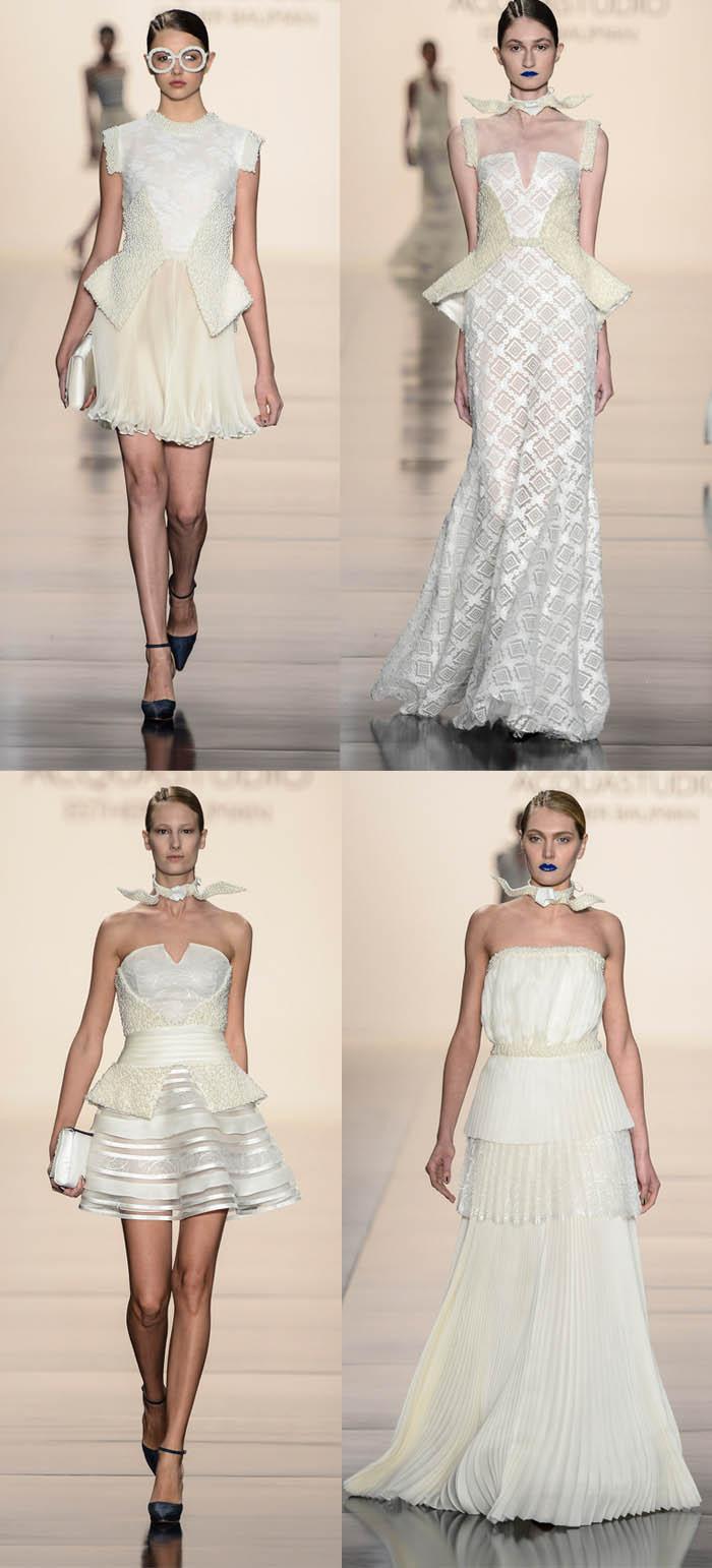 AS PÉROLAS DO #SPFW_vestido com pérola_perolado_vestidos curtos_vestidos rodados_vestidos claros_vestidos de gala_looks da passarela