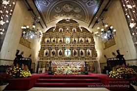 Interior of the Basilica del Santo Niño: Jan 16, 2013