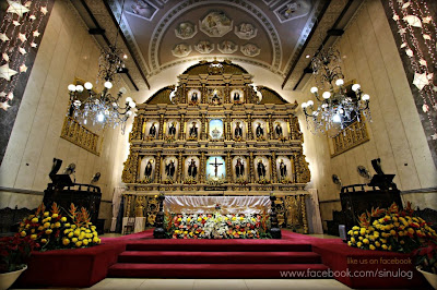Interior of the Basilica del Santo Niño: Jan 16, 2013