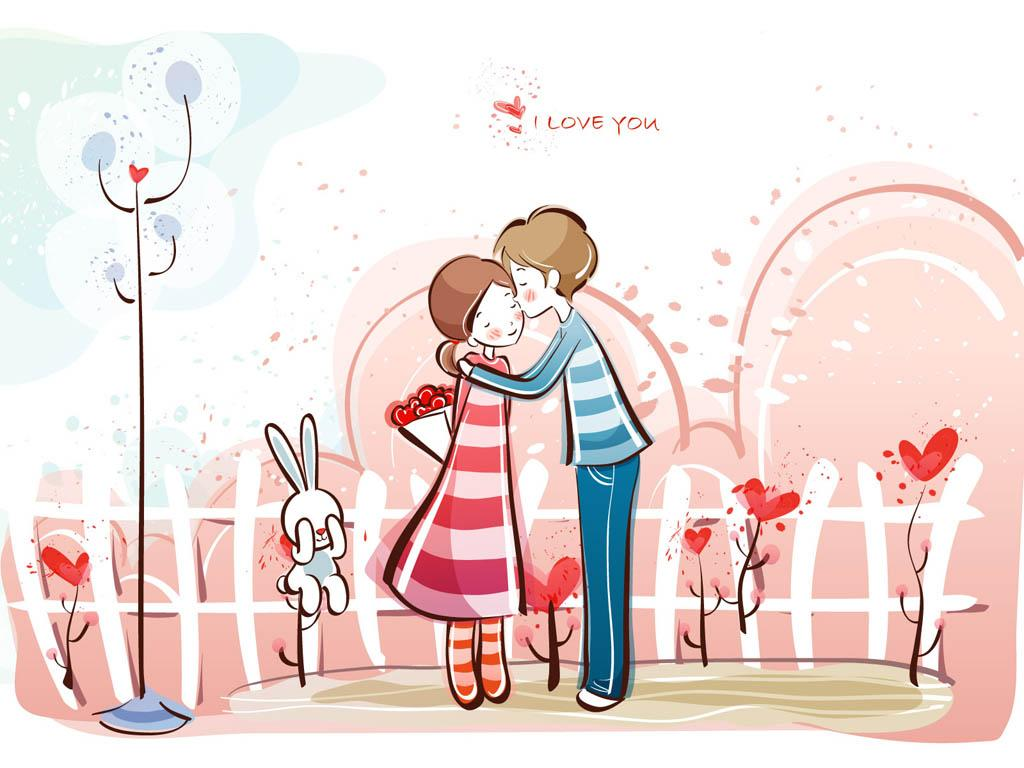 Sweet Cute Couple Cartoons Picture