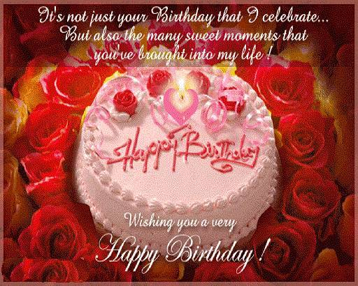 Sweet Romantic Happy Birthday Text Sms In Hindi English For