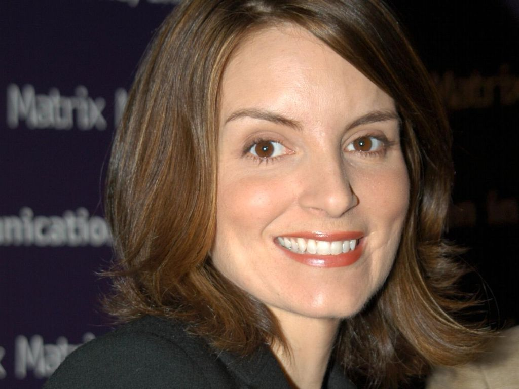 Hairstyles Popular 2012 Celebrity Tina Fey Medium Length Hairstyle