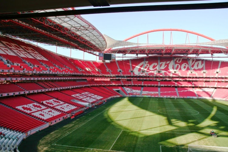 Conhe a lisboa cidade sede da final da champions league for Piso 0 inferior estadio da luz
