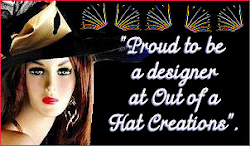 I am very proud to have been a desiger at Out of a Hat Creations