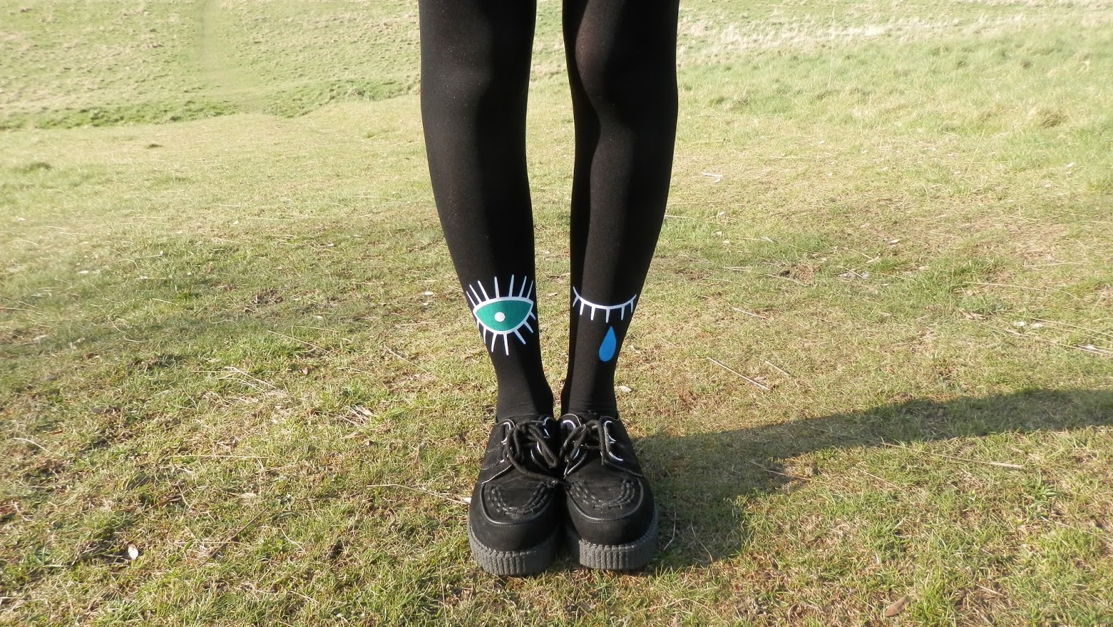 Eye Tights & Black Creepers