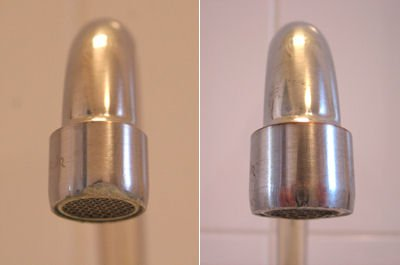 remove limescale from taps, remove limescale from your taps