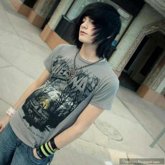boy Cute hairstyles emo