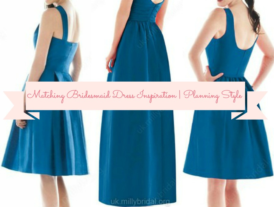 Matching Bridesmaid Dress Inspiration   Planning Style