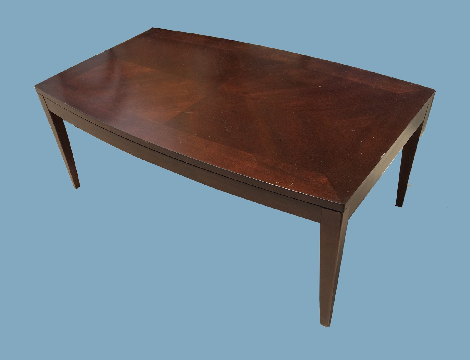 Uhuru Furniture Collectibles Dark Walnut Coffee Table 85 75 Sold