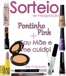 Sorteio - Pontinho Pink!