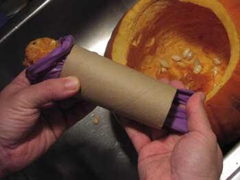Любовна ръкавица или изкуствена вагина от тиква - как да си направим сами