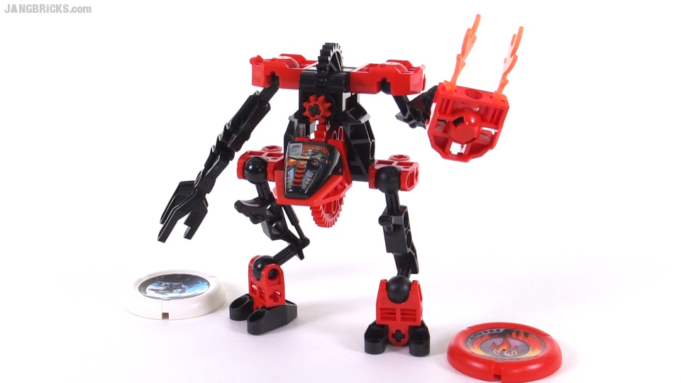 LEGO Slizer Throwbot Scorch Flame From 1999 Set 8500