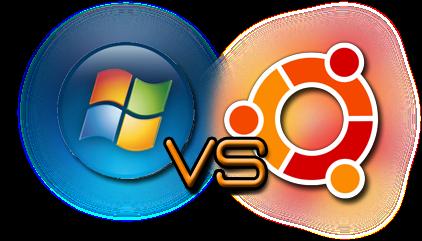 Resensi : linux ubuntu dibandingkan dengan windows 7