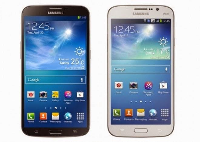 Spesifikasi Samsung Galaxy Mega 5.8 I9152 - 8 GB - Hitam