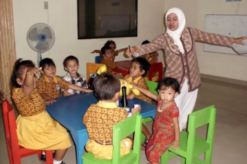 Pemerintah setiap tahun memberikan insentif untuk Guru PAUD.