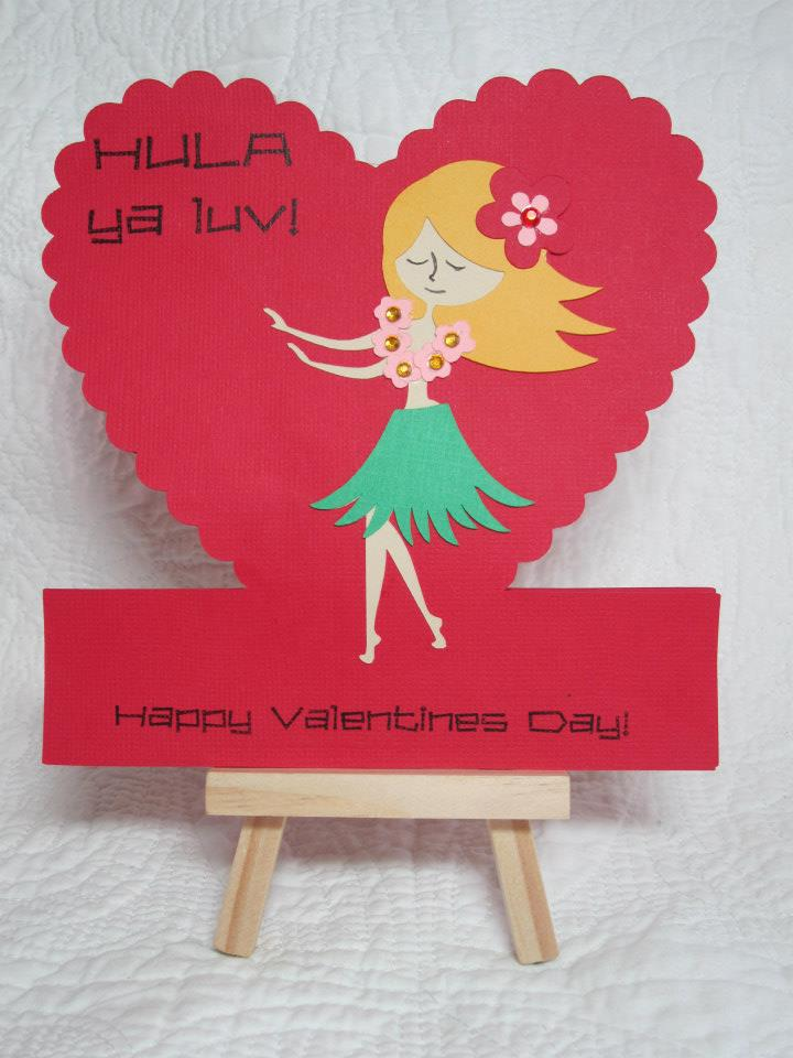 Hula Ya Luv Vintage Valentine